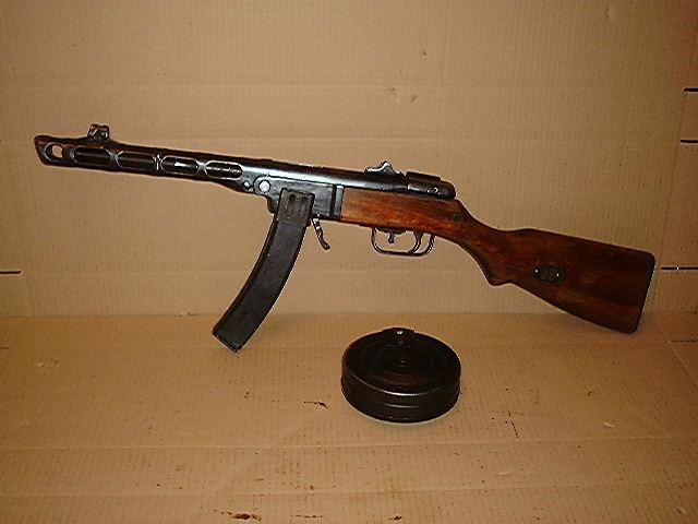 Pistolet mitrailleur russe ppsh 41